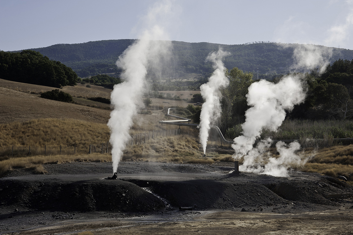 Larderello Geothermal Energy